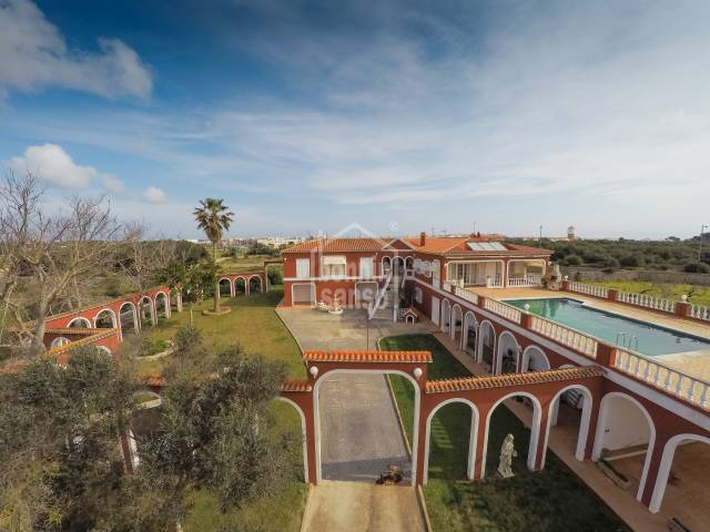 Large country residence in Llumesanes Menorca