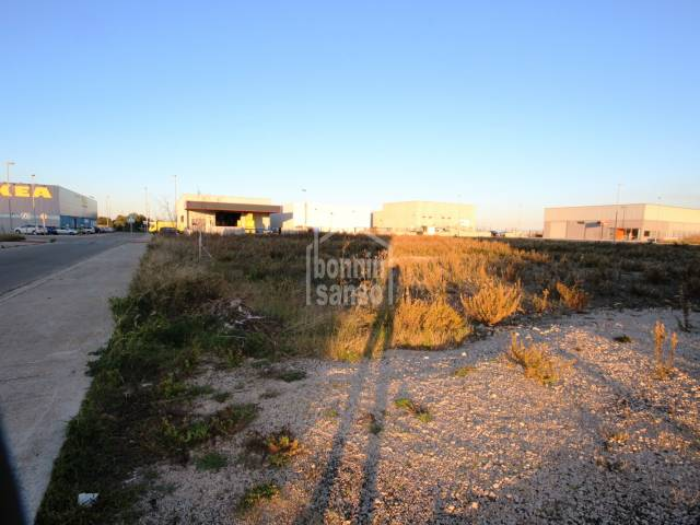 Building plot, Mahon industrial estate, Menorca