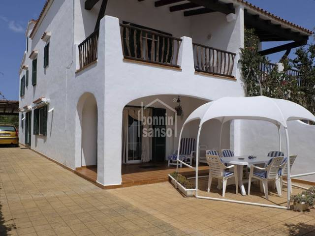 Townhouse Ses Salines near sailing area of Fornells Menorca