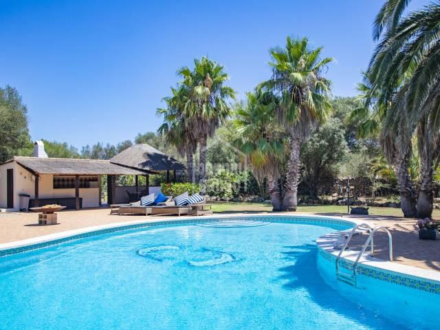 Impressive property in rural setting, Trebaluger, Menorca