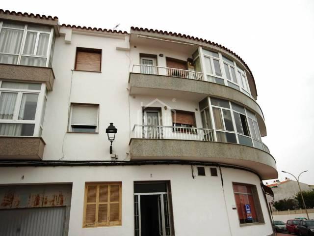 Amplio y luminoso piso en San Luis. Menorca