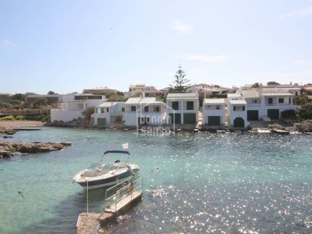 Front line house in Biniancolla with spectacular sea views