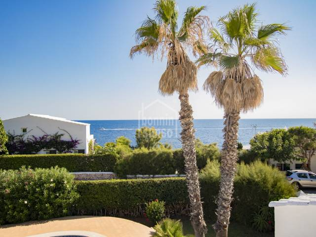 Absolutely Stunning villa with sea views in Cap den font, Menorca.
