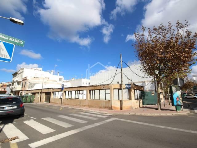 Gewerbliches Lokal/Gebäude in Ciutadella (City)