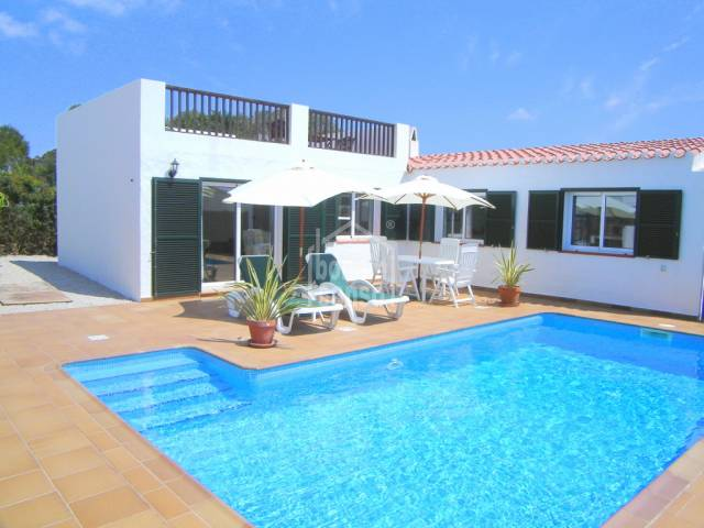 Villa with stunning sea views in Binibeca, Menorca