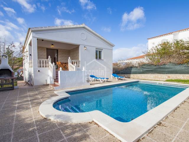Villa in the urbanization of Addaya, Menorca