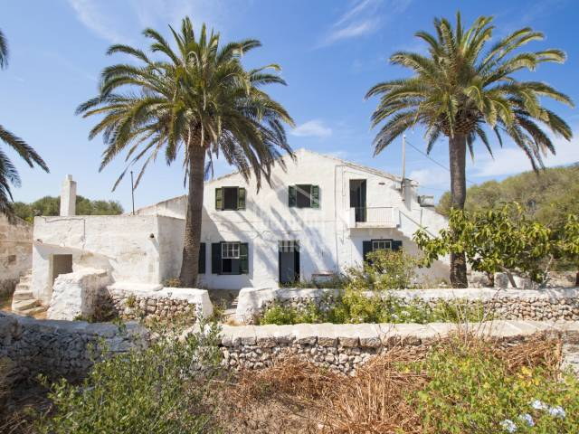 Finca rustica con encanto, zona de Es Castell en Menorca