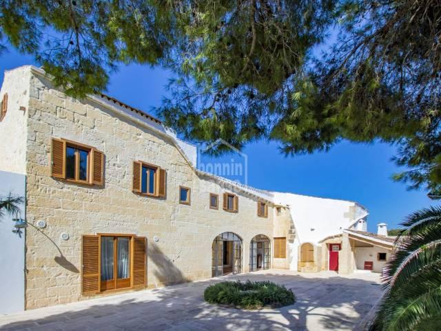 Increible recuperación de finca tradicional para uso hotelero, Alaior - Menorca
