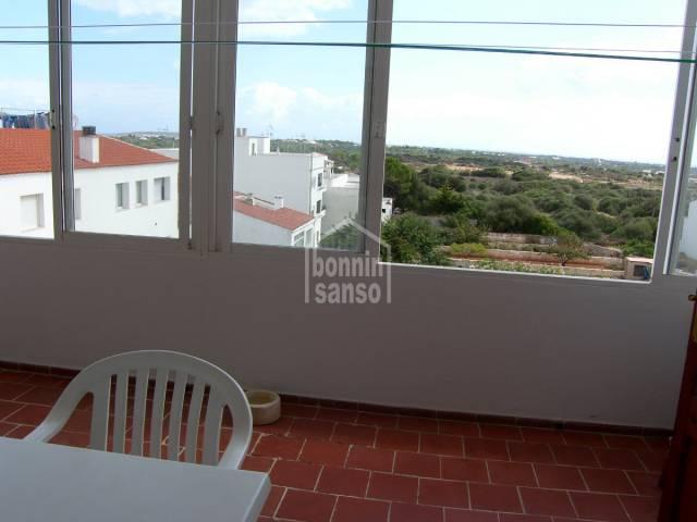 Piso con plaza de parking en el pueblo de San Luis, Menorca
