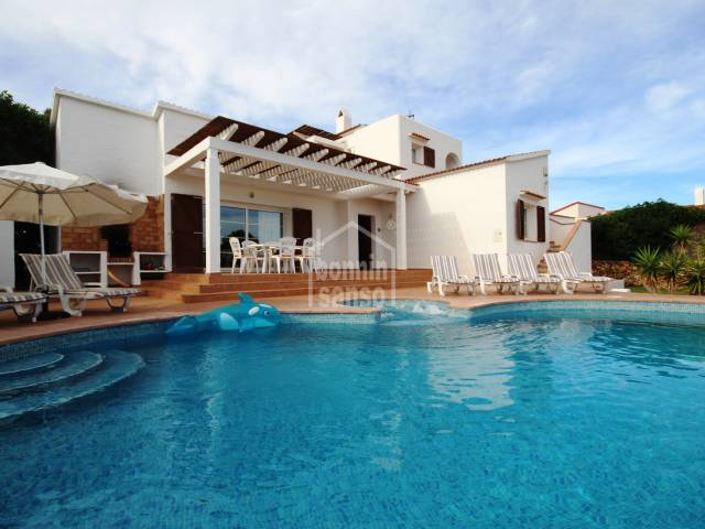 Beautiful villa in quiet area in Binibeca, Menorca