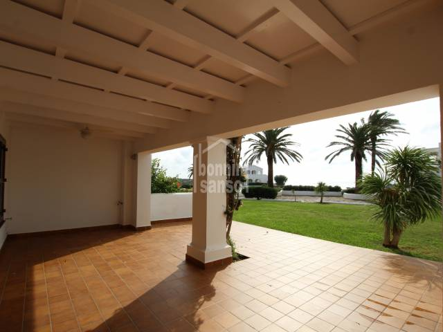 Beautiful ground floor in the prestigious gated comunity  of Ses Tanques. Es Canutells. Minorca