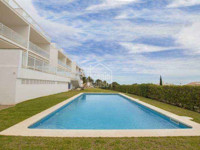 Lovely apartment with private garden  in Coves Noves Menorca