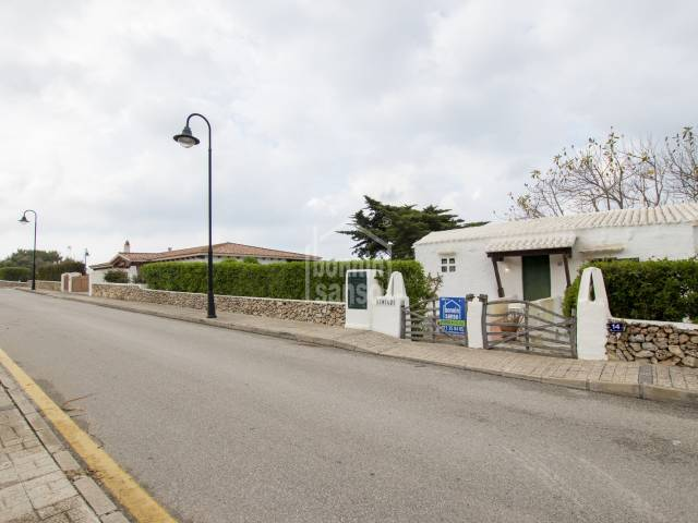 Villa/Appartement/Haus in Binibeca Vell