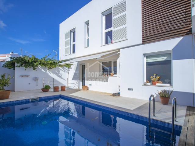 Modern house in a residential area in San Luis, Menorca