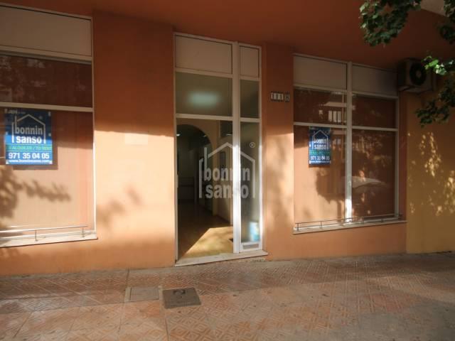 Local en alquiler en zona Vives Llul, en Mahón, Menorca
