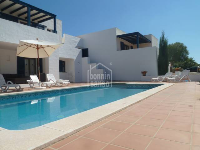 Amplia villa en Binibeca Vell Menorca
