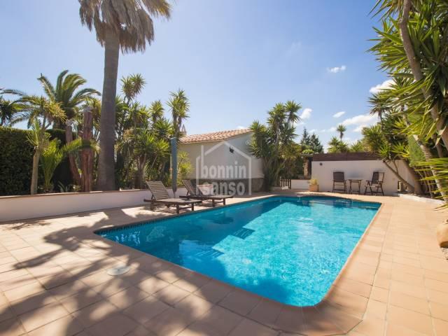 Excepcional casa de campo en Trebaluger, Menorca
