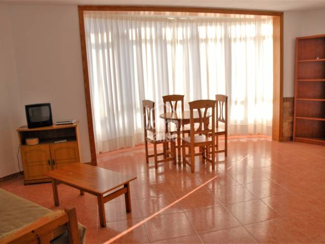 Spacious second floor flat close to the historic harbour of Ciutadella, Menorca