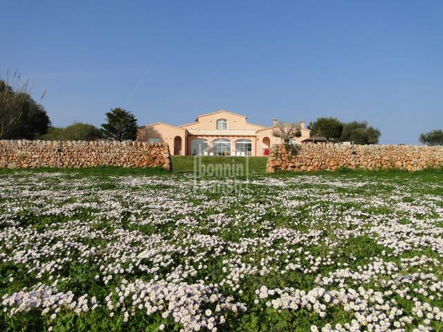 Modern country property with tourist license in  Pou Nou. Sant Lluis Menorca