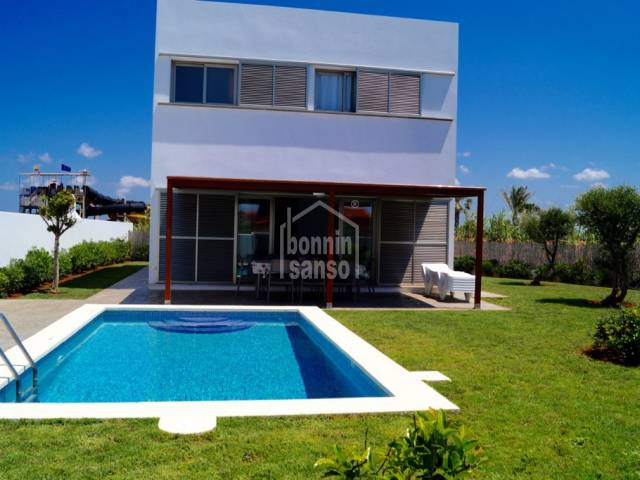 Private modern style villa near the coast in Cap Artruix