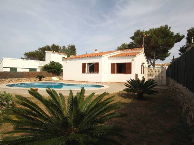 Villa with pool near the Addaya Marina. Menorca