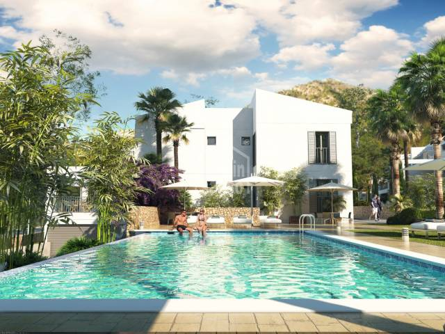 New Build. Ground floor apartment of approx. 100m² plus approx. 39m² of terrace in Canyamel, situated a few minutes from the Beach