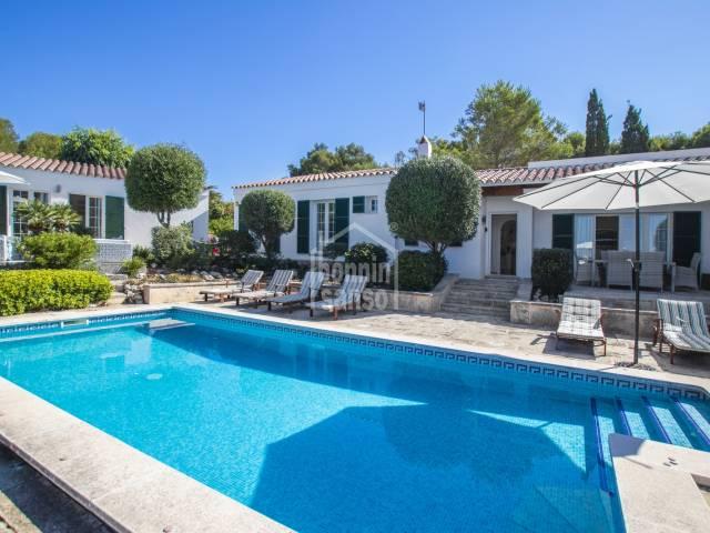 Stunning villa in Binibeca, Menorca.