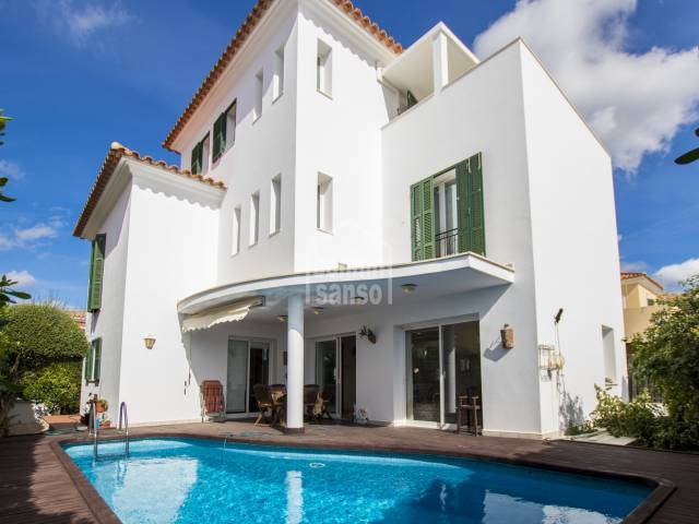 Large and comfortable property, recently built in Alaior, Menorca