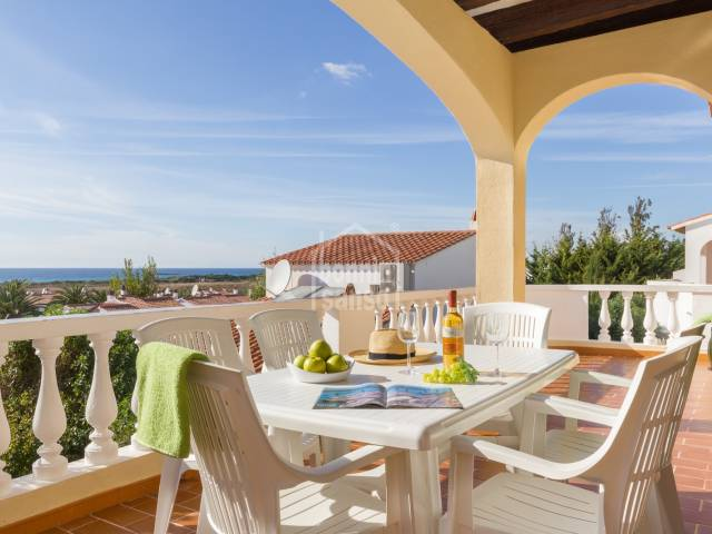 Complejo de 4 chalets adosados con piscina comunitaria. Licencia Turística. Son Bou - Menorca