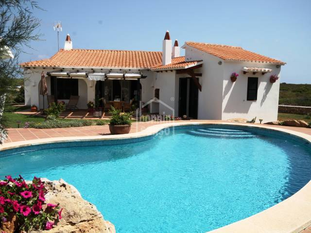 Villa with private pool near Arenal den Castell, Menorca