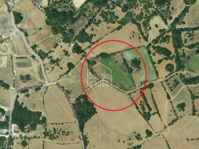 Terreno rústico en Es Castell