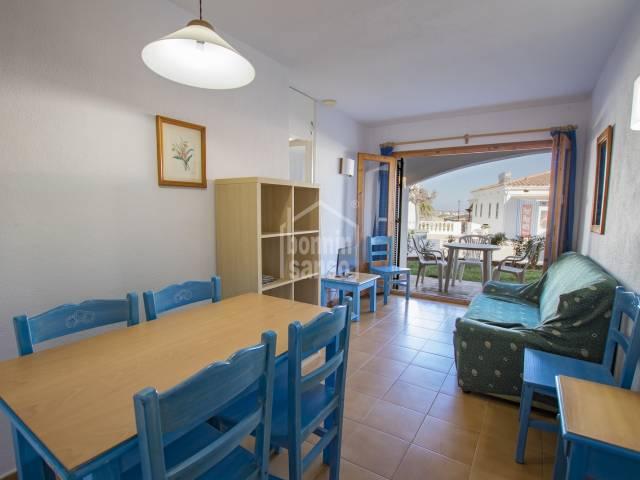 Interesante apartamento con licencia turística en costa norte de Menorca