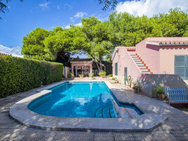 Villa with swimming pool in Cales Coves, Menorca