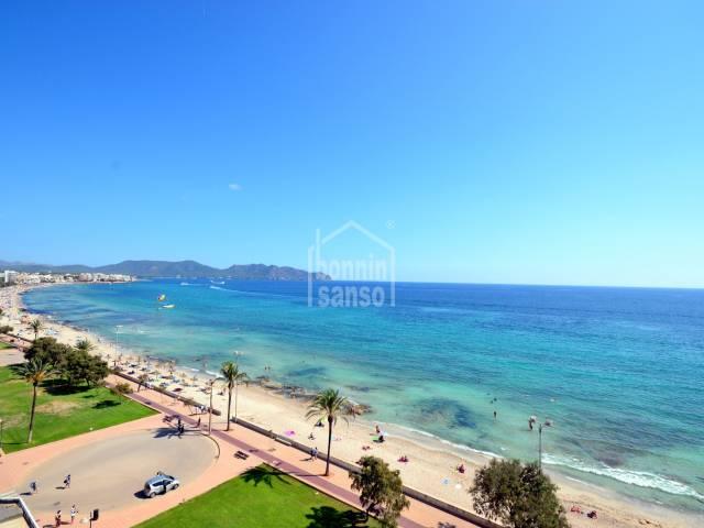 Atico con vistas mar, primera linea, Cala Millor, Mallorca