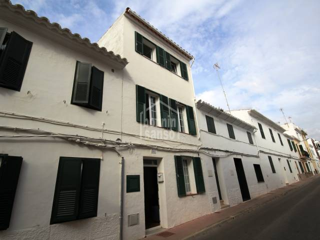 Town House in Es Castell near Calas fonts, Menorca.