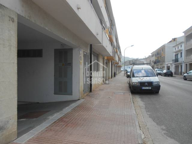 Garage/parking in Mercadal (Town)
