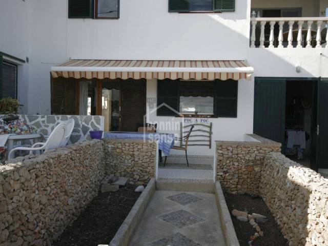 Agreable ground floor on Na Macaret, Menorca