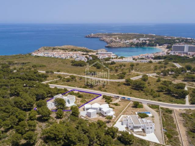 Exclusive contemporary villa in Coves Noves. Menorca