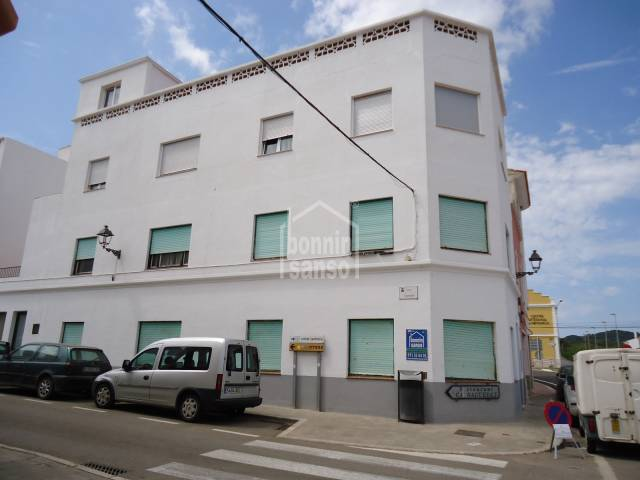 In Mercadal, Menorca, flat for sale near the center of the town. .