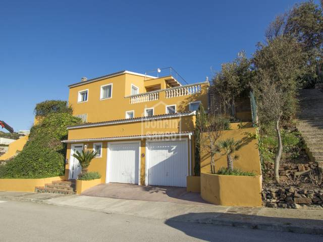 Chalet with tourist license in Cala Llonga, Mahon. Menorca