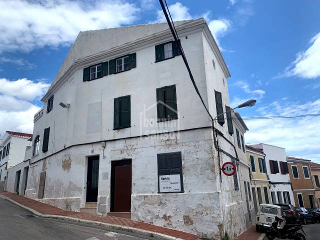 Ground floor refurbishment project,Mahon, Menorca