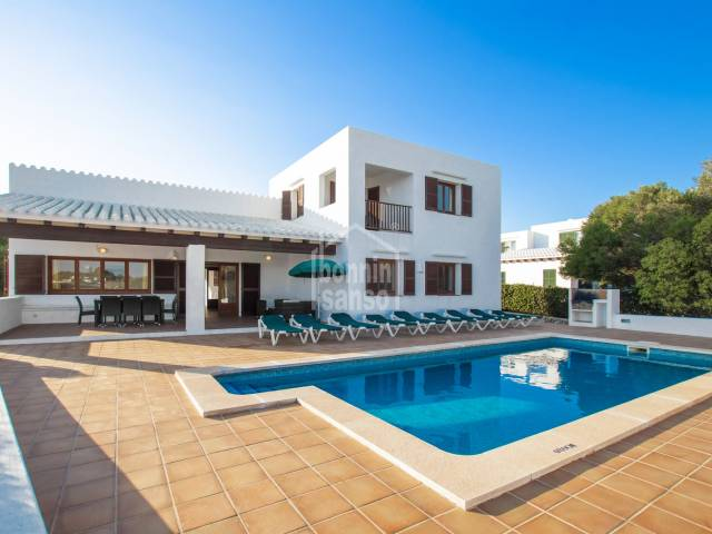 Villa with tourist license in Binibeca Vell, Menorca