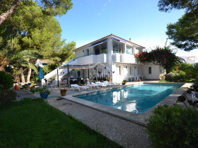 Tastefully villa in Son Xoriguer, Ciutadella, Menorca.