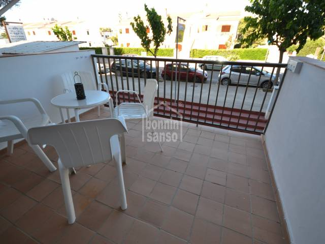 Apartment in Cala Blanca near the beach