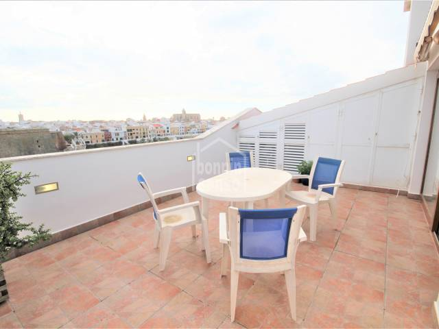 Terrace - Magnificent duplex, very close to the old town and with spectacular views, Ciutadella, Menorca