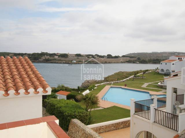 Attractive house with views of Mahon harbour, in Sol de Este, Menorca