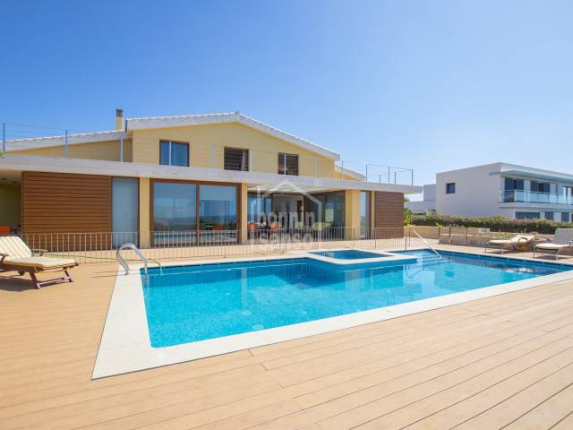 Stunning front line villa with spectacular sea views in Sa Farola, Ciutadella, Menorca