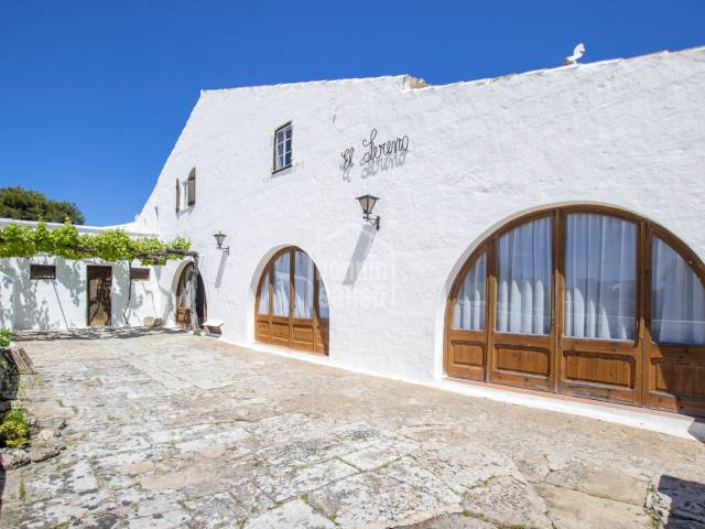 Traditional farmhouse five minutes out of Mahon, Menorca
