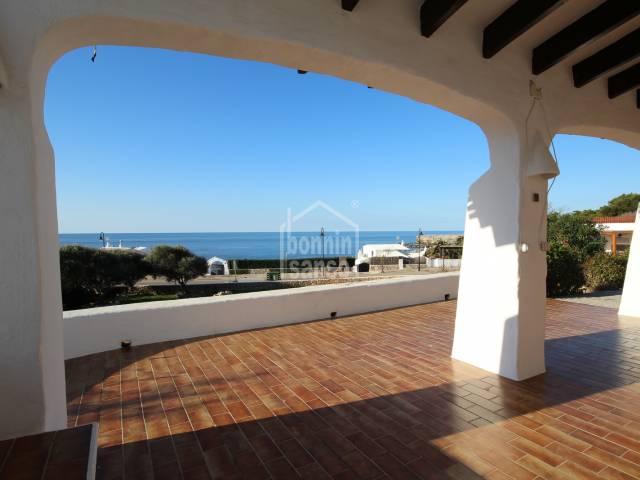 Vistas - Impresionantes vistas al Mar desde esta villa Binibeca