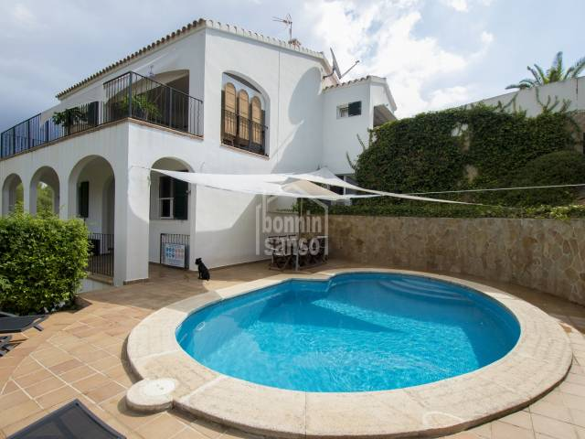 Modern and attractive villa in Cala Llonga, Menorca